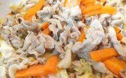 カンタン オヤジ飯 #15 秘密の隠し味は? 豚肉と野菜の味噌マヨ炒め